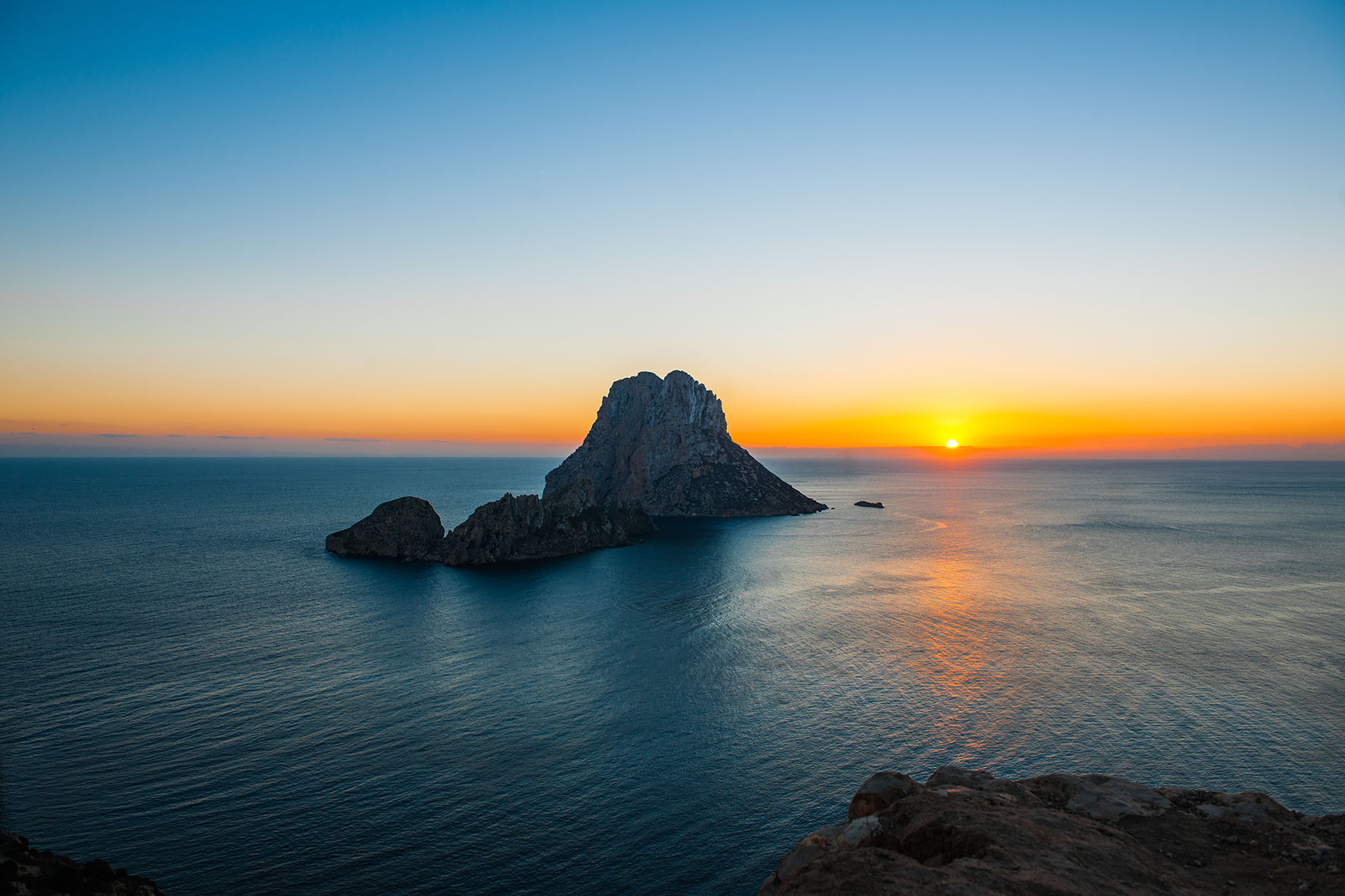 Ibiza sunsets in holiday retreat