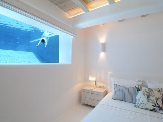 pool inside bedroom