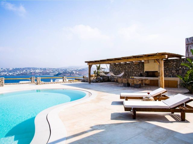 private villa sea view