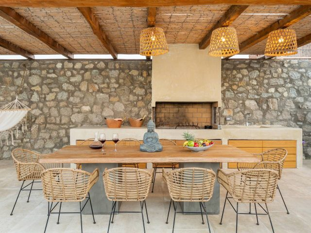 BBQ and dining table